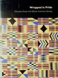 6 books on African textiles. 1995 - 2009