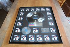Michael Jackson - Fantastic RIAA LP Award for THRILLER - large award