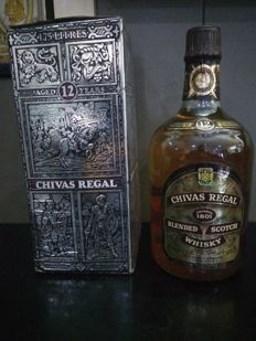 Chivas Regal 12 years old - 1.75 Litre - 1980s