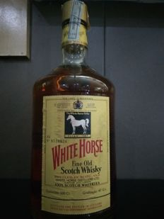 White Horse Fine Old Scotch Whisky - 2 Liter - 1980s