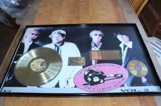 Travelling Wilburys - Fantastic RIAA LP Award for Volume 3  - large award