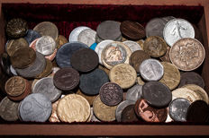 World - lot of coins of the world (approx. 138 pieces)