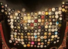 Collection of more 180 Champagne and Cava taps from years 1970