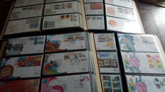 The Netherlands 1963/2011 - Collection of FDCs from E61 onwards in 4 Importa albums
