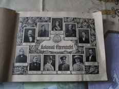 Collection of 8 cigarette image collecting albums before 1945