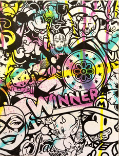 Speedy Graphito - Winner