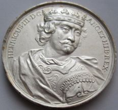 United Kingdom - Modern Medal (1731) Henry III 1206-1272 Later work by J.A. Dassier