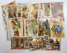 Liebig - various countries and series 4 kg of cards