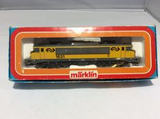 Märklin H0 - 3326 - Electric locomotive Series 1600, company number 1631 of the NS (2512)