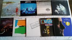A great lot of 8 albums, including 2 doublealbums by Genesis and 1album by Phil Collins solo.