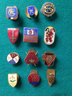 Small lot of pins, badges and stickpins
