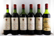 6 Pack Red Wine: 1978 Château Haut Sarpe . 1955 Clos Jean Voisin