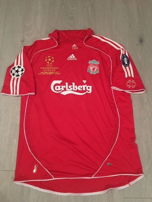 newest e534e 38347 Legendary Uefa Champions League final shirt Liverpool 2007 ...