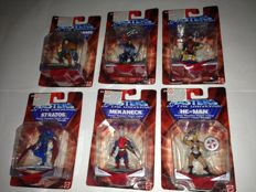 Mattel - Masters of the Universe - 6 mini figures - New sealed.