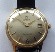 Omega - Seamaster automatic met datum; 40 micron plaque or - Homme - 1960-1969