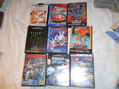 9 sega games Mega Drive like:  Sonic 2 + Sonic 3 and bubsy 2 + Rock and Roll racing and more