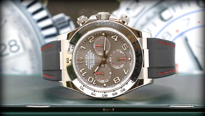 Rolex - Daytona 116519 Full Set + Rubber B Original -  - Heren - 2011-heden