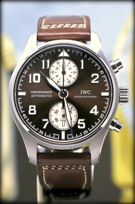IWC - Pilot Chronograph Edition Saint Exupery - Ref. IW387806 - Heren - 2017