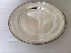 Large round serving dish, Christofle France 1995