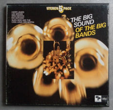 The Big Sound Of The Big Bands-  15 LP's  & One Double LP & A 5 Pack Lp's Box -