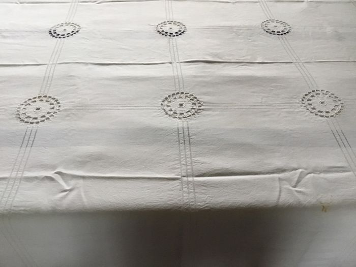 cotton table cloth, France, circa 1920