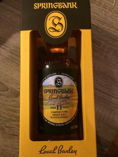 Springbank Local Barley - 11 Years old - OB