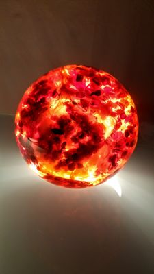 Huge hand made Composite Baltic Amber Sphere - 1,797 kg