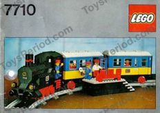 Lego Trains - 7710 - Push Along Passenger Steam Train