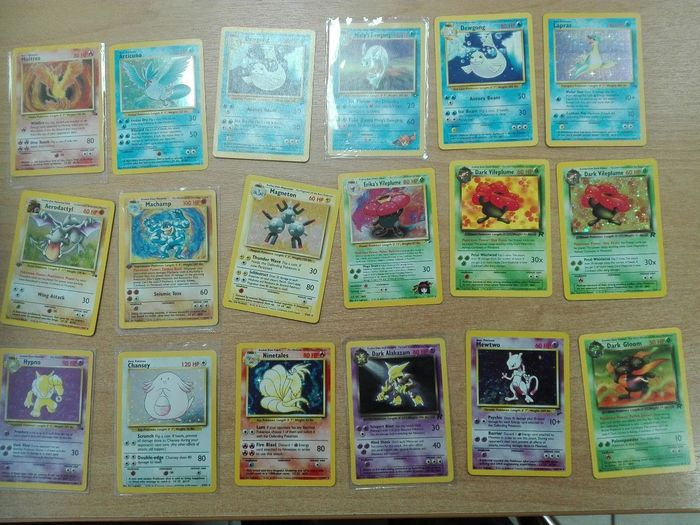Pokémon Trading Card Game first editions