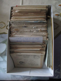 Lot with letters of prisoners of war after WW II  1945-1947