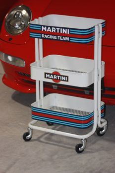 Martini racing team design, PORSCHE, Le mans, service trolley