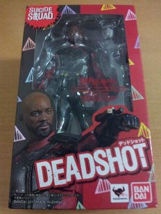Suicide Squad - Ban-Dai / S.H.Figuarts statue of Deadshot (Will Smith) - (2017)
