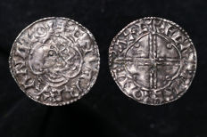 United Kingdom, Cnut - Penny (1016-35) Quatrefoil Type Exeter Mint - silver