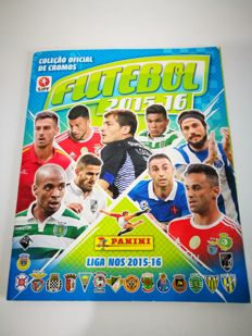 Panini - Portuguese football sticker album 2015/16 - Full Album.