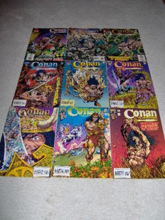 Conan The Adventurer - Complete Set - Marvel Comics - 14x sc - (1994/1995)