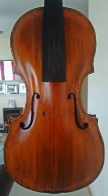 Very interesting old antique violin with italian label