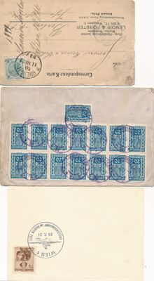 Austria 1901/2000 - First Day Cover and postal value items