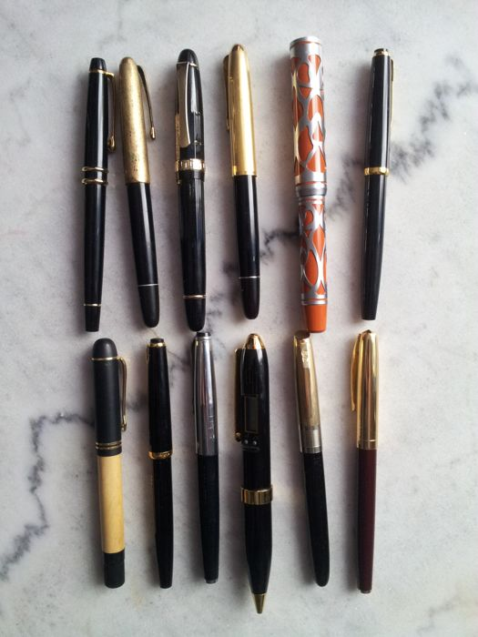 Fountain pens from the 1960s/1970s