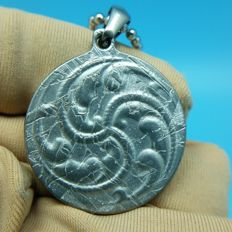 Meteorite pendant seymchan amulet jewelry iron mineral necklace dGav 9.6g S285