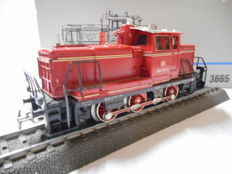 Märklin H0 - 3665 - Diesel shunting locomotive BR 260 of the DB Cargo, with Telex couplings
