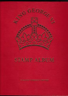 British Commonwealth countries 1938/1952 - Collection in a Stanley-Gibbons album