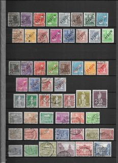 Berlin 1948-1990 collection in stock album - almost complete