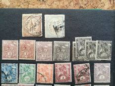 Ethiopia and Italian Eritrea - A collection of 475 stamps - from 1893