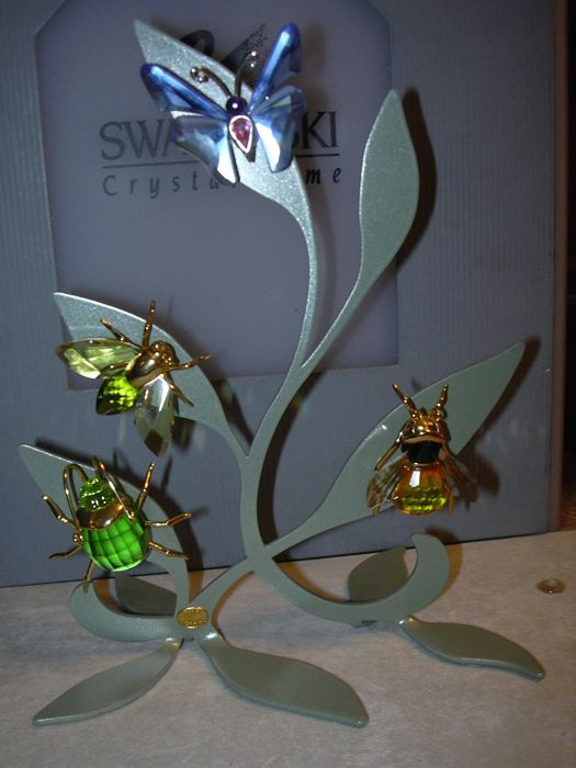 Swarovski Silver Crystal Paradise Display Stand Small With 40 Objects Simple Swarovski Display Stands