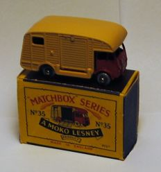 Matchbox, Lesney, 35 a, ERF Marshall Horse Box, SPW, exc+ in original box