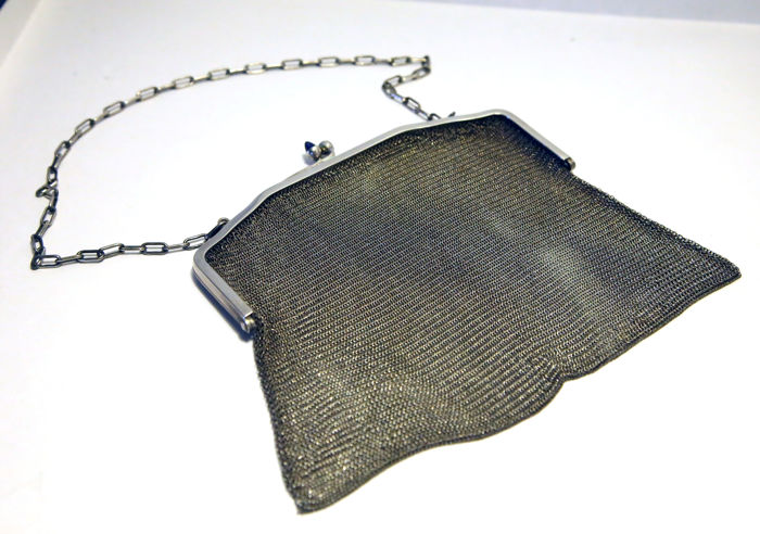 800 Silver Purse, early 1900s