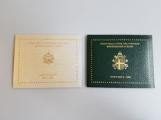 Vatican - 2 coin sets €2005