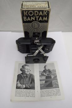 "Kodak ""Bantam"". The rarest model in the bakelite body. The state of the new, in its own box with a passport. Eastman Kodak СО Rochester.N.T 1935"
