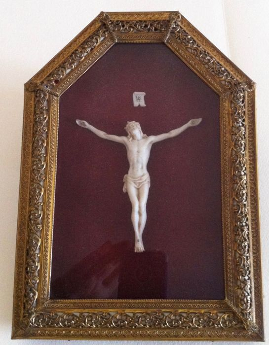 Encased Crucifix - Italy - 20th century