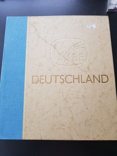 Germany 1950/1960 - Federal Republic of Germany, collection in an old, thick KABE album